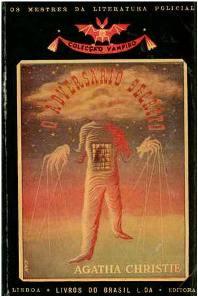 Capa do livro O adversário Secreto de Agatha Christie