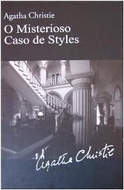 Capa do livro O Misterioso Caso de Styles de Agatha Christie