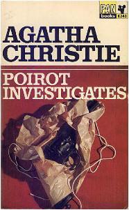Capa do livro As Investigações de Poirot de Agatha Christie