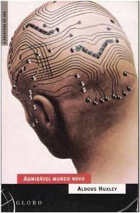 Capa do livro Admirável Mundo Novo de Aldous Huxley