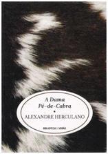 Capa do livro A Dama Pé-de-Cabra de Alexandre Herculano