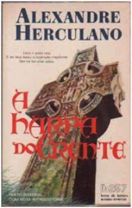 Capa do livro A Harpa do Crente de Alexandre Herculano