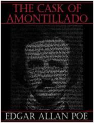 Capa do livro O Barril de Amontillado de Edgar Allan Poe