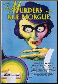 Capa do livro Os Crimes da Rua Morgue de Edgar Allan Poe