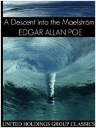 Capa do livro Uma descida no Maelstrom de Edgar Allan Poe