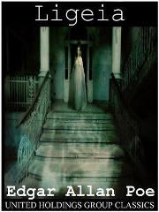 Capa do livro Ligeia de Edgar Allan Poe