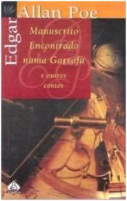 Capa do livro Manuscrito Encontrado numa Garrafa de Edgar Allan Poe