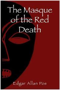 Capa do livro A Máscara da Morte Vermelha de Edgar Allan Poe