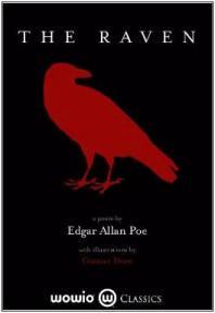 Capa do livro O Corvo de Edgar Allan Poe