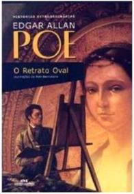 Capa do livro O Retrato Oval de Edgar Allan Poe