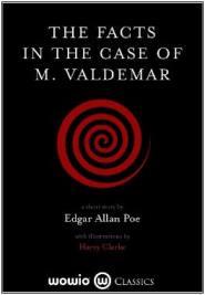Capa do livro A Verdade no Caso do Sr. Valdemar de Edgar Allan Poe