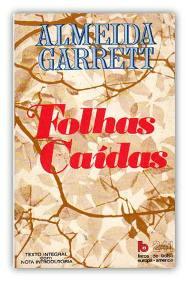 Capa do livro Folhas Caídas