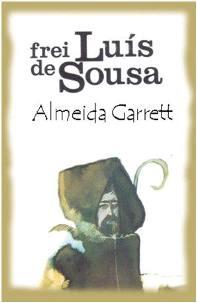 Capa do livro Frei Luís de Sousa de Almeida Garret