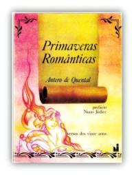 Capa do livro Primaveras Românticas