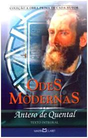 Capa do livro Odes Modernas