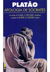 Capa do livro Apologia de Sócrates de Platão