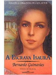 Capa do livro A Escrava Isaura de Bernardo Guimarães