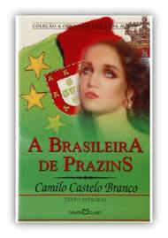 Capa do livro A Brazileira de Prazins