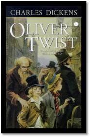 Capa do livro Oliver Twist de Charles Dickens
