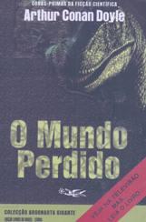 Capa do livro O Mundo Perdido de Sir Arthur Conan Doyle