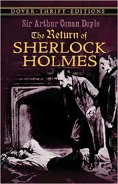 Capa do livro O Regresso de Sherlock Holmes de Sir Arthur Conan Doyle