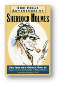 Capa do livro A Última Aventura de Sherlock Holmes de Sir Arthur Conan Doyle