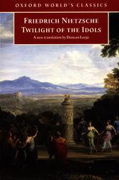 Capa do livro Crepúsculo dos Ídolos de Friedrich Nietzsche