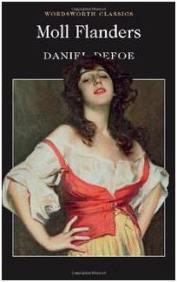 Capa do livro A Vida Amorosa de Moll Flanders de Daniel Defoe