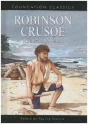 Capa do livro Robinson Crusoe de Daniel Defoe
