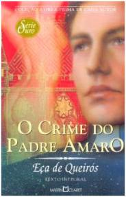 Capa do livro O Crime do Padre Amaro