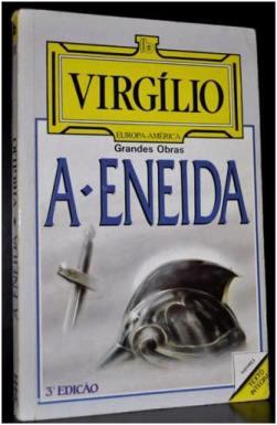 Capa do livro Eneida de Virgílio