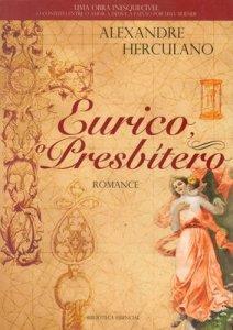 Capa do livro Eurico, o Presbítero de Alexandre Herculano
