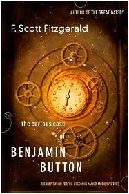 Capa do livro O Estranho Caso de Benjamin Button