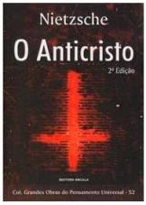 Capa do livro O AntiCristo de Friedrich Nietzsche