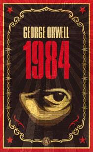 Capa do livro 1984 de George Orwell