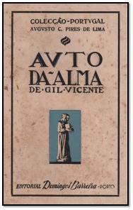 Capa do livro Auto da Alma de Gil Vicente