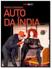 Capa do livro Auto da Índia de Gil Vicente