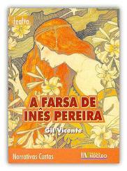 Capa do livro Farsa de Inês Pereira de Gil Vicente