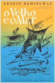 Capa do livro O Velho e o Mar de Ernest Hemingway