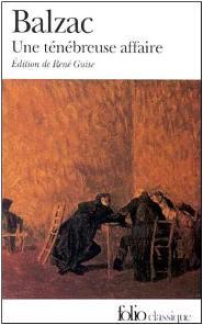 Capa do livro Um Caso Tenebroso de Honoré de Balzac
