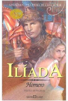 Capa do livro Ilíada