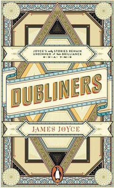 Capa do livro Gente de Dublin de James Joyce