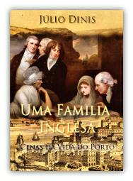 Capa do livro Uma Família Inglesa de Júlio Dinis