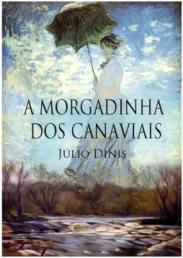 Capa do livro A Morgadinha dos Canaviais de Júlio Dinis