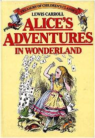 Capa do livro Alice no País das Maravilhas de Lewis Carroll