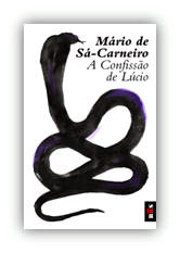 Capa do livro A Confissão de Lúcio de Mário de Sá-Carneiro