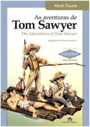 Capa do livro As Aventuras de Tom Sawyer de Mark Twain