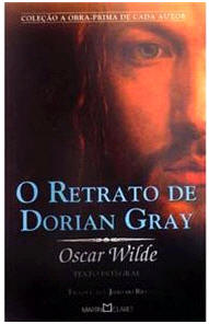 Capa do livro O Retrato de Dorian Gray de Oscar Wilde