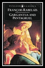 Capa do livro Pantagruel de François Rabelais