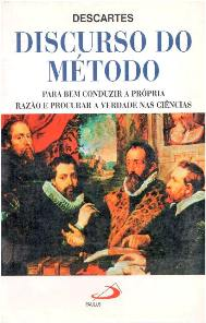 Capa do livro O Discurso do Método de René Descartes